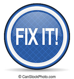 fix it blue icon