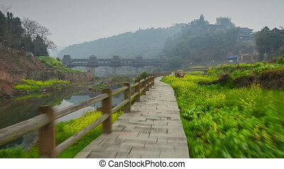 Chengyang village hyperlapse - Walk to ChengYang Wind and...