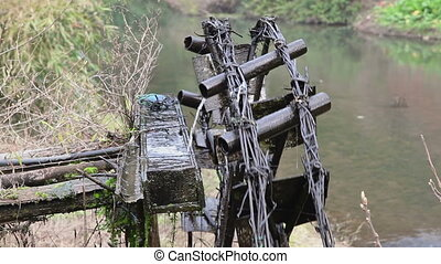Old irrigation system - Chengyang scenic area in China