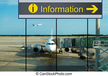 information at airport
