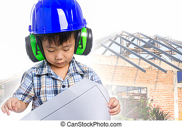 Dream of the child's future career (engineer) - Dream of the...