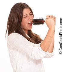 Teenage pop singer