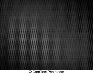 Metallic Texture - Black metallic texture. 2D graphics....