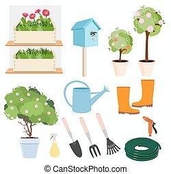Spring gardening set