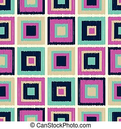 seamless square grid pattern