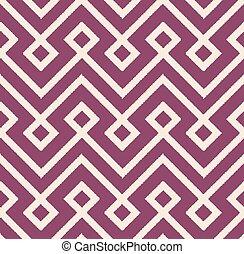 seamless mesh lozenge pattern
