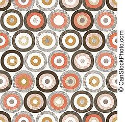 seamless dots geometric pattern