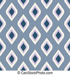 seamless rhombus scribble pattern