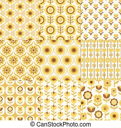 seamless floral fabric pattern