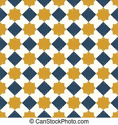 seamless islamic geometric pattern