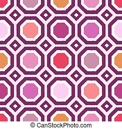 seamless polygonal geometric pattern