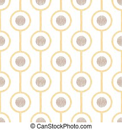 seamless circle ring mesh pattern