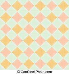 seamless square rhombus pattern