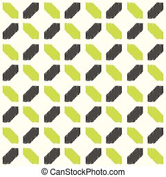 seamless geometric tiles pattern