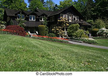 Stanley Park Pavillion, Vancouver, BC, Canada - Stanley...