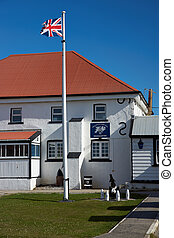Falkland Islands Police Station - Royal Falkland Islands...