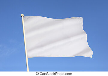 White Flag of Surrender - The white flag is an...