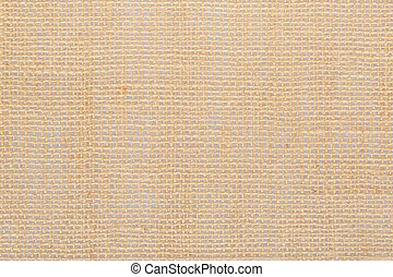 Canvas, brown burlap background