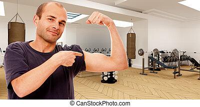 Fitness fan