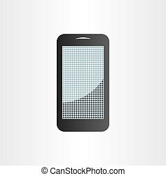 android mobile phone design element tablet icon - android...