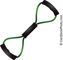Exercise Bands - Stretchy rubber exercise bands for strength...