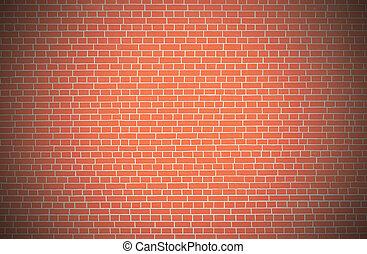 Red brick wall background - Red brick wall background inside...