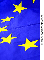 european union flag background with copypsace for...