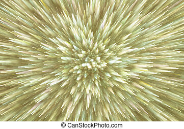 golden abstract explosion lights background