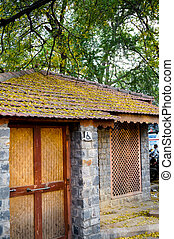 toilet for physically handicapped in village - Toilet for...