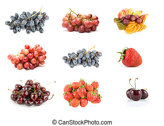 collection of ripe fruit