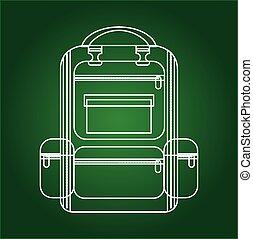 school supplies design, vector illustration eps10 graphic