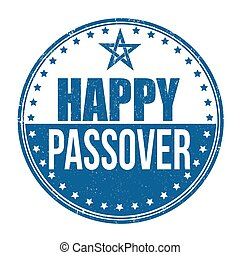 Happy Passover stamp