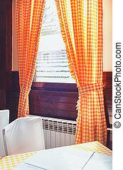 Restaurant Interior - Classical restaurant interior,...