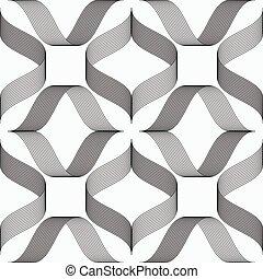 形成, 菱形, 帶子, 圖案