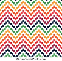 seamless zigzag chevron pattern