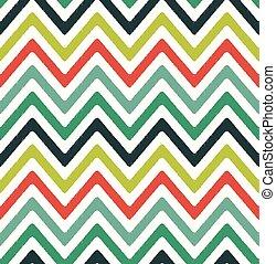 seamless zigzag chevron pattern
