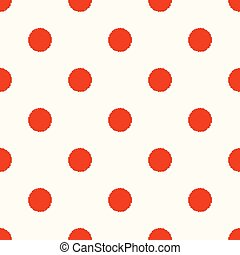 seamless circle dots pattern
