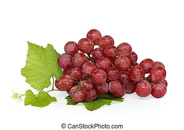 Grape cluster - Very clean grape isolated.