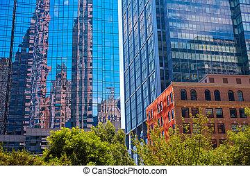Boston in Massachusetts downtown buidings - Boston...