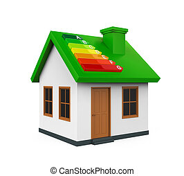 House with Energy Efficiency Level