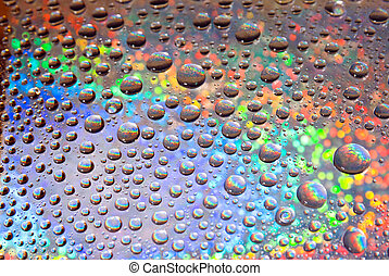 water droplets background