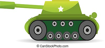vector army tank. military tank. army machine. - vector army...