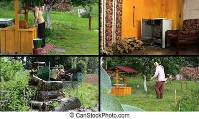 village works collage