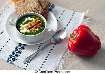 蔬菜, 湯, 熱, 碗