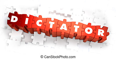 Dictator - Text on Red Puzzles. - Dictator - Text on Red...