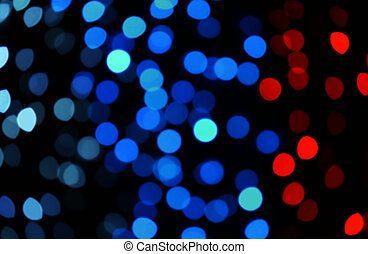 Magical Lights - Decorative illumination for a holiday in...