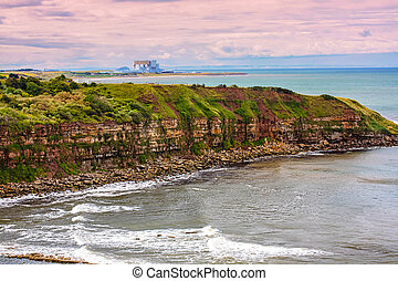 Berwickshire Coastal Path, Scotland, UK