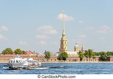 Hydrofoil trip - Russian hydrofoil Meteor by the Peter and...