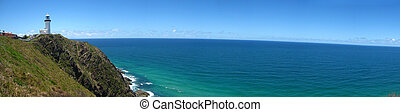 byron bay lighthouse australia - this is the lighthouse in...