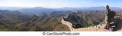 china great wall of china - this is the great wall of china